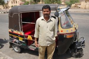 Rafik y su autorickshaw