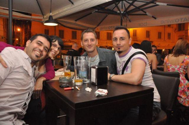 Con Salvatore y Giuseppe